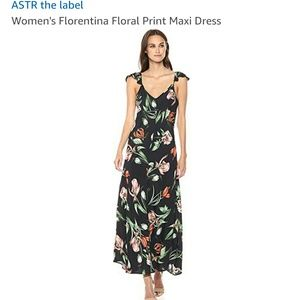 ASTR The Label size L ruffle strap sleeveless maxi